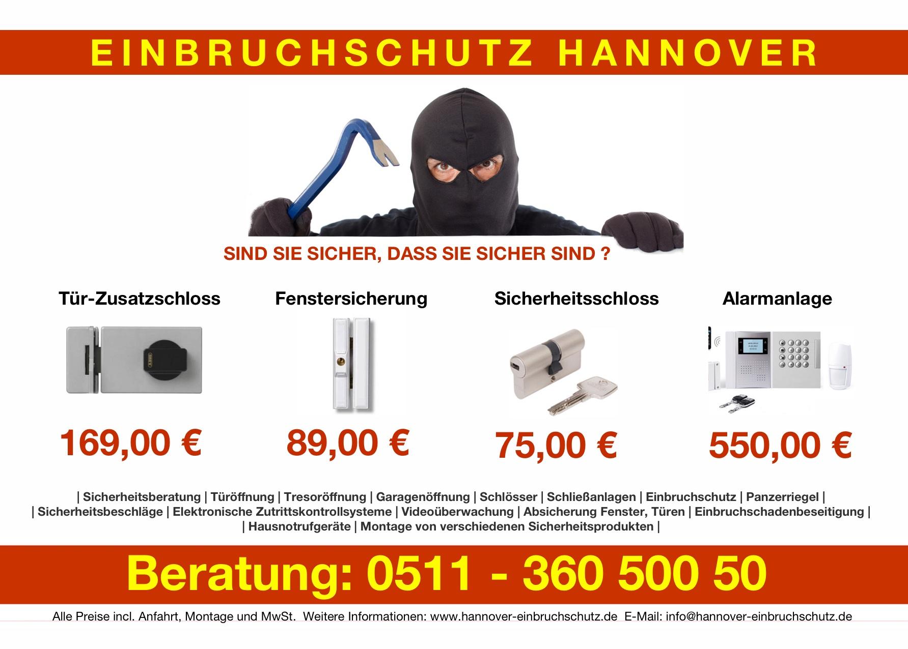 Einbruchschutz Hannover